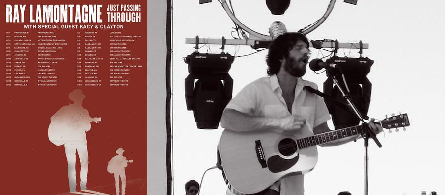 Ray LaMontagne at ACL Live At Moody Theater