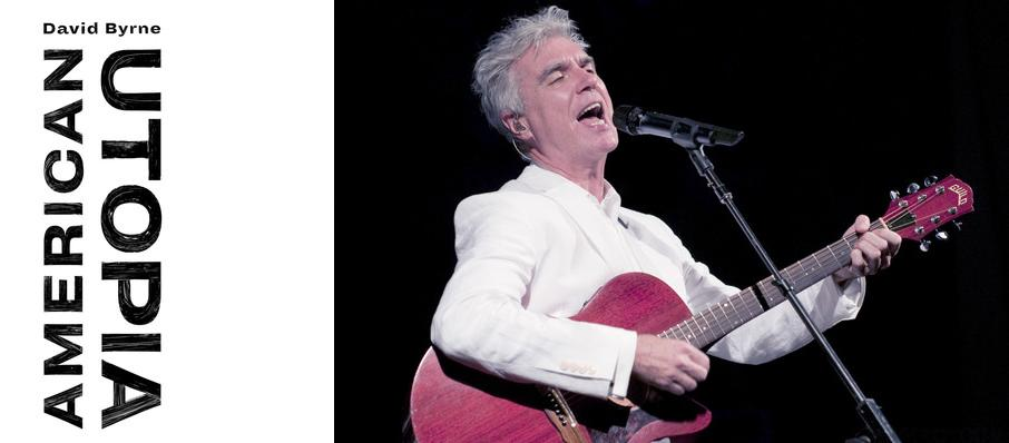 David Byrne at Bass Concert Hall
