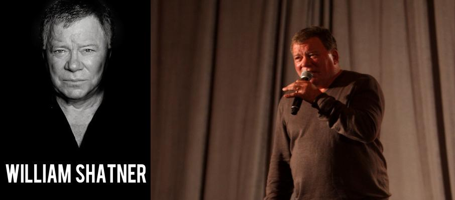 William Shatner at Bass Concert Hall