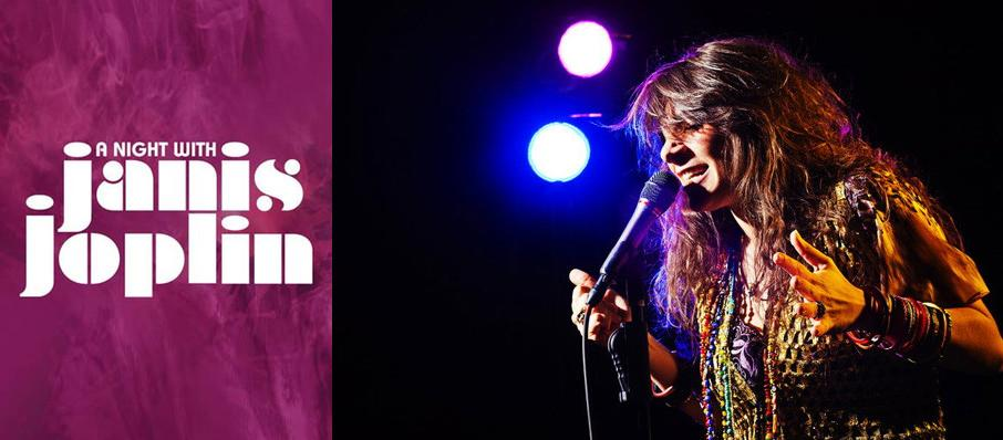 A Night with Janis Joplin at ZACH Theatre