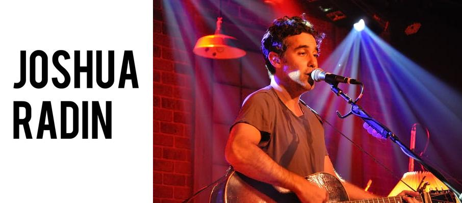Joshua Radin at The Parish