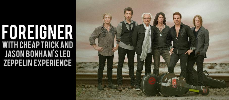Foreigner with Cheap Trick and Jason Bonhams Led Zeppelin Experience at Austin360 Amphitheater