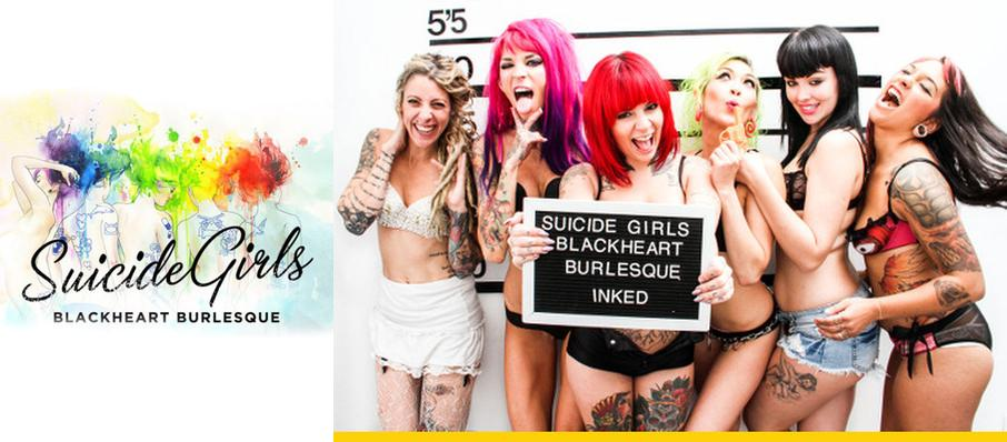 The Suicide Girls - Blackheart Burlesque at Emos East