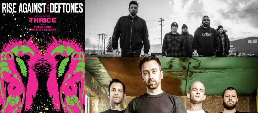 Deftones with Rise Against at Austin360 Amphitheater