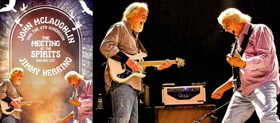 John McLaughlin with Jimmy Herring at Paramount Theatre