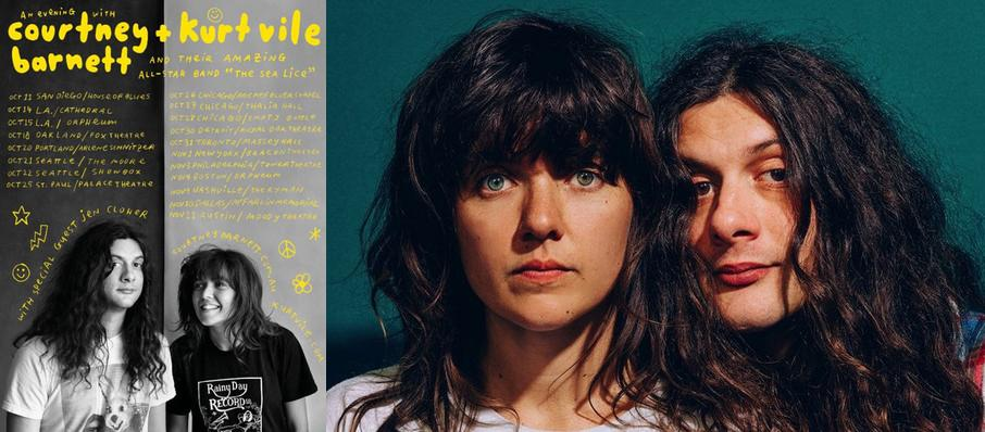 Courtney Barnett and Kurt Vile at ACL Live At Moody Theater