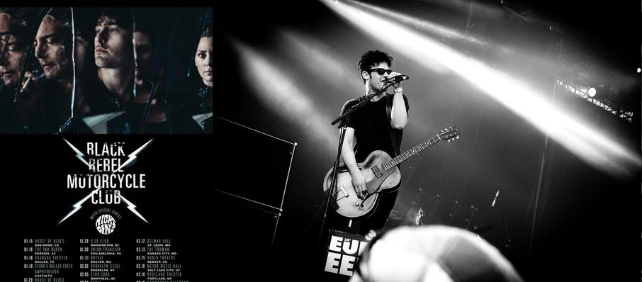 Black Rebel Motorcycle Club at Stubbs BBQ Outdoor Stage