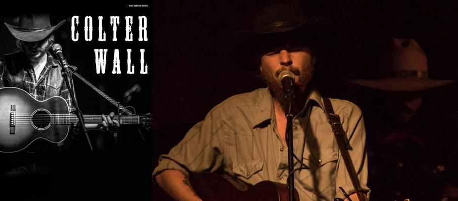 Colter Wall at Scoot Inn