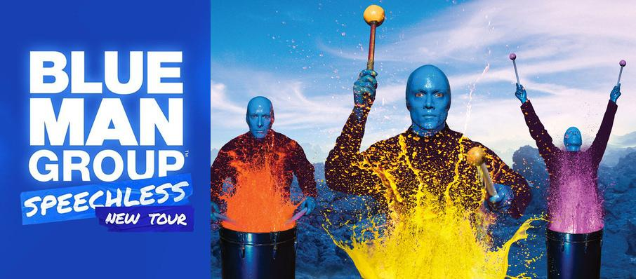 Blue Man Group at Dell Hall