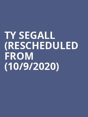 Ty Segall (Rescheduled from (10/9/2020) at Mohawk