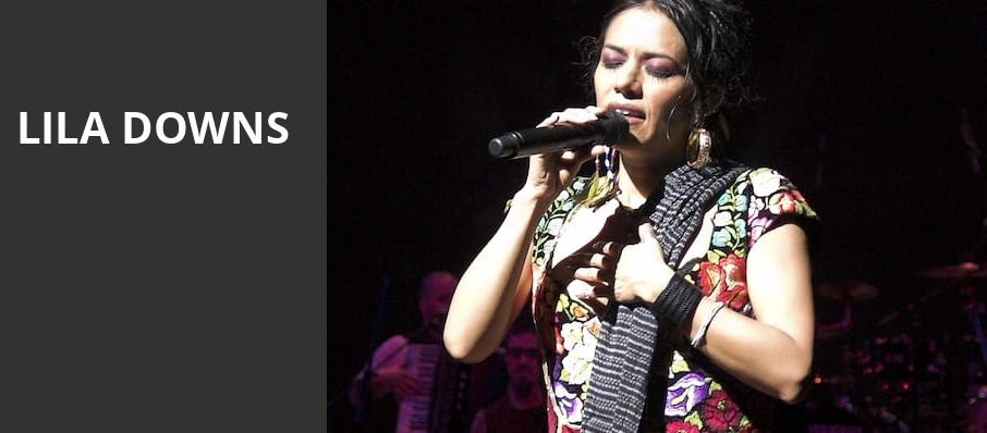 Lila Downs, Paramount Theatre, Austin