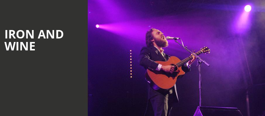 Iron and Wine, Paramount Theatre, Austin