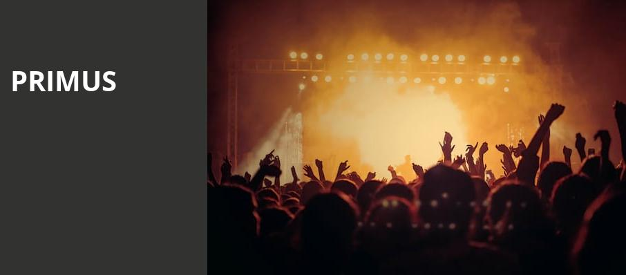Primus, ACL Live At Moody Theater, Austin
