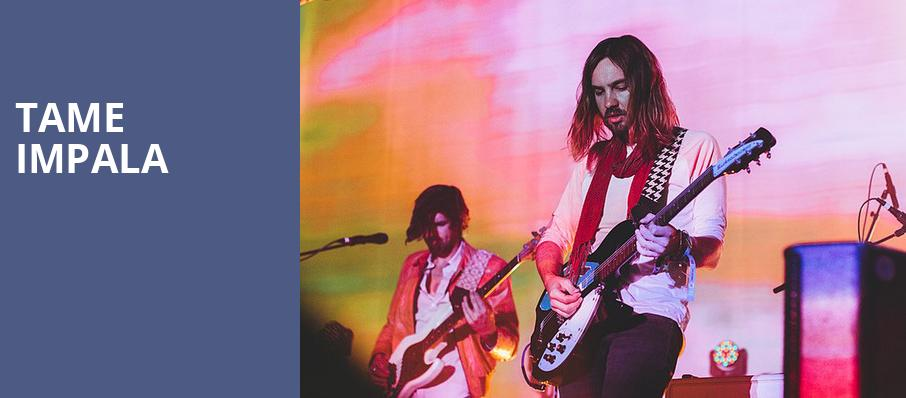 Tame Impala, Frank Erwin Center, Austin