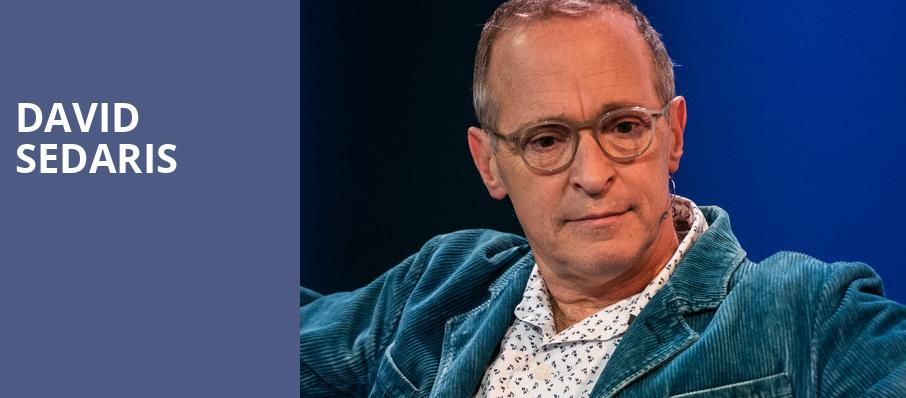 David Sedaris, Bass Concert Hall, Austin