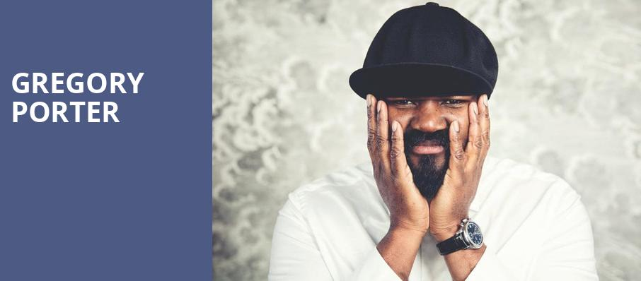 Gregory Porter, Dell Hall, Austin