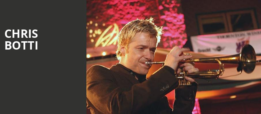 Chris Botti, Paramount Theatre, Austin