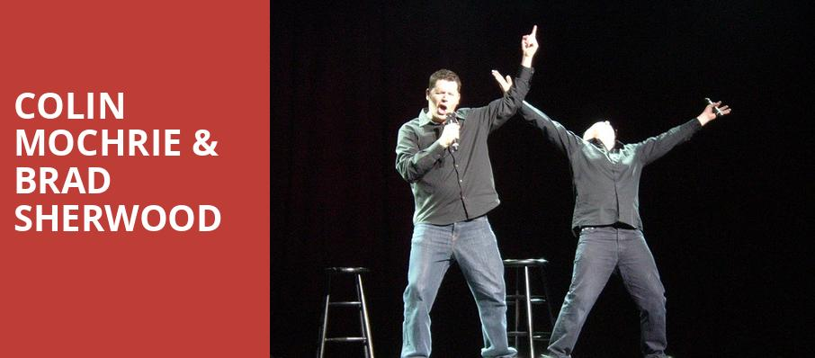 Colin Mochrie Brad Sherwood, One World Theatre, Austin
