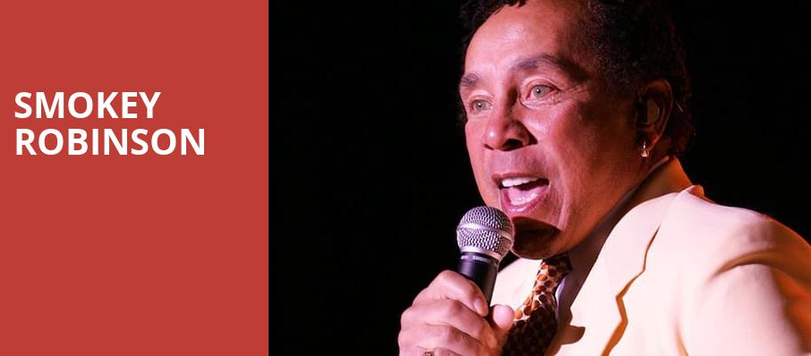 Smokey Robinson, Cedar Park Center, Austin
