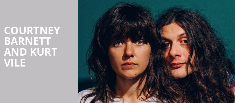 Courtney Barnett and Kurt Vile, ACL Live At Moody Theater, Austin