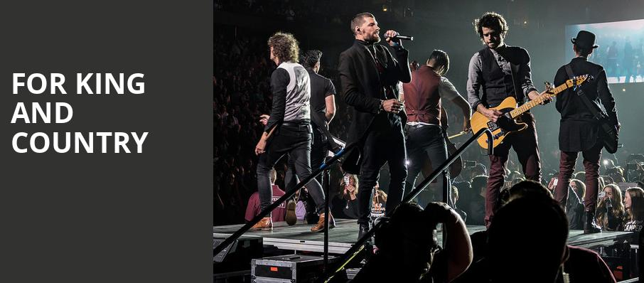 For King And Country, Frank Erwin Center, Austin