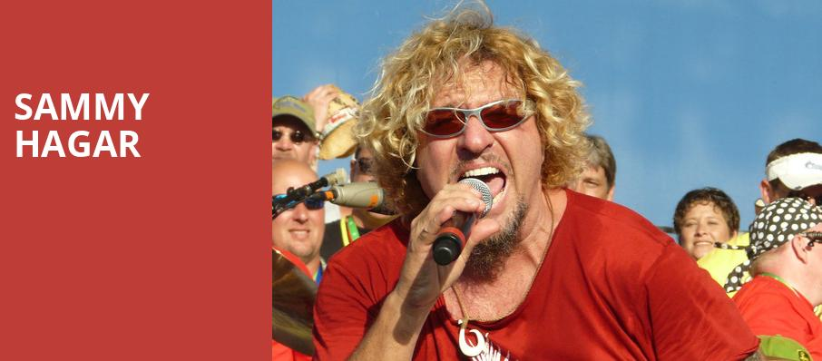 Sammy Hagar, ACL Live At Moody Theater, Austin