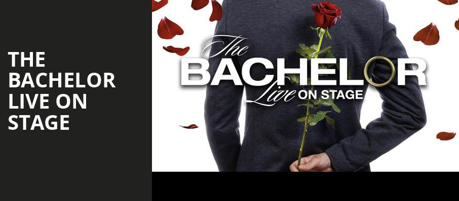 The Bachelor Live On Stage, ACL Live At Moody Theater, Austin