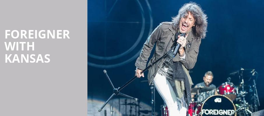 Foreigner with Kansas, Germania Insurance Amphitheater, Austin