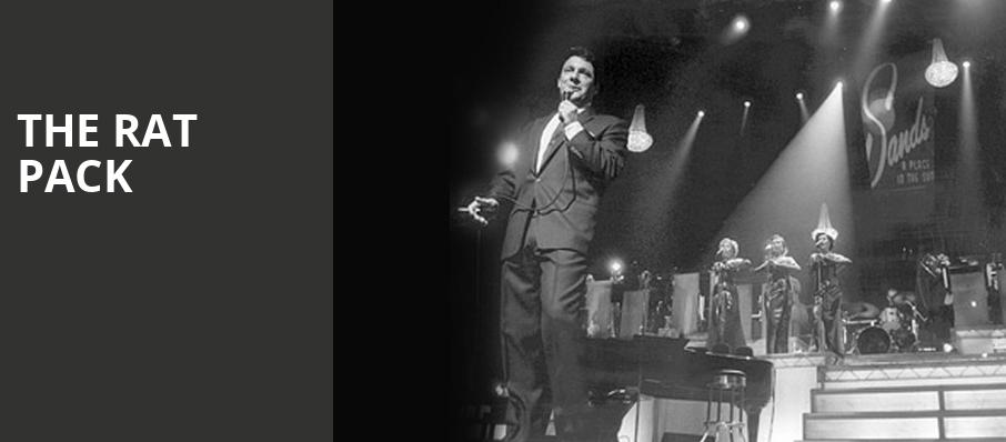 The Rat Pack, Palmer Events Center, Austin