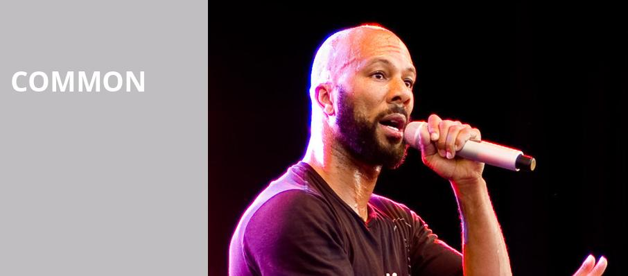 Common, ACL Live At Moody Theater, Austin