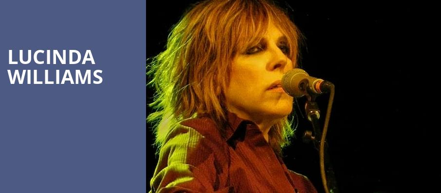 Lucinda Williams, ACL Live At Moody Theater, Austin