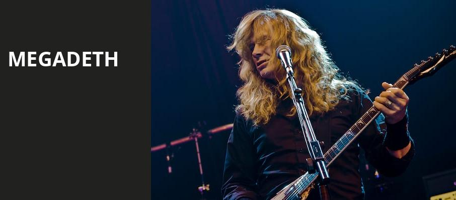 Megadeth, Germania Insurance Amphitheater, Austin
