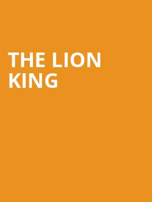 The Lion King, Bass Concert Hall, Austin
