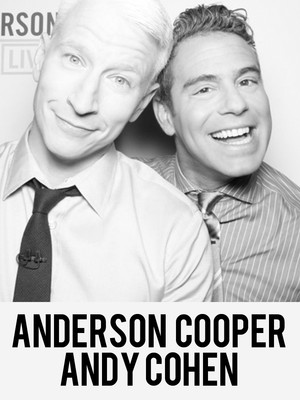 Anderson Cooper & Andy Cohen Poster